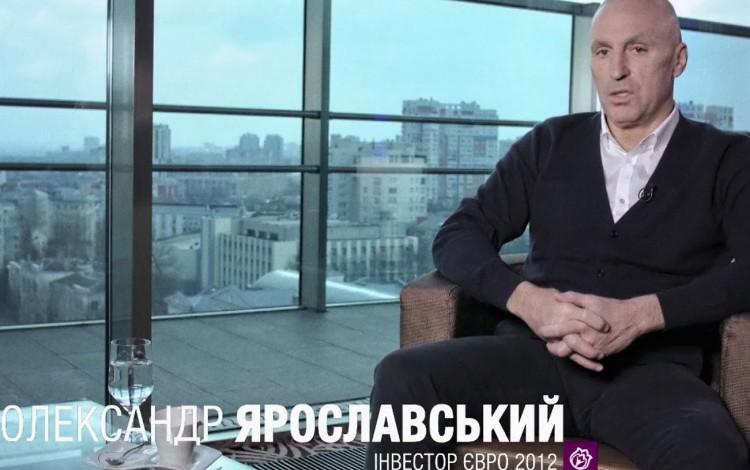 REMEMBERING EURO 2012: Oleksandr Yaroslavsky looks back on Kharkiv preparations