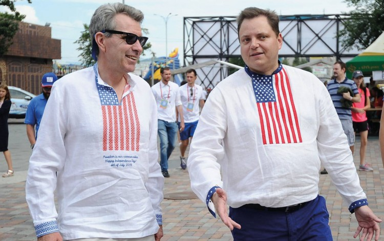 "US DIPLOMACY IN UKRAINE: ACC President Andy Hunder says thank you to ""Incredible Ambassador"" Geoffrey Pyatt"