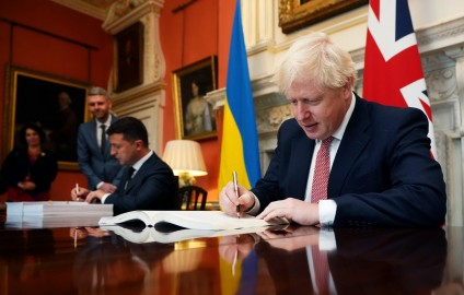 BRITAIN AND UKRAINE SIGN POST-BREXIT STRATEGIC PARTNERSHIP AGREEMENT