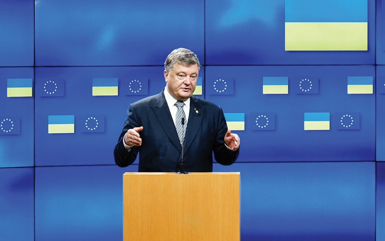 BATTLE FOR BRUSSELS: Russia is still overshadowing Ukraine as both countries fight for favor in the EU capital