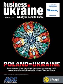 Business Ukraine magazine issue October 2016