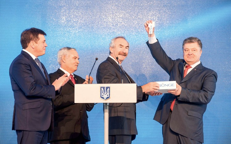 UKRAINIAN AGRICULTURE INFRASTRUCTURE: US giant Bunge invests USD 280 million into the Ukrainian breadbasket