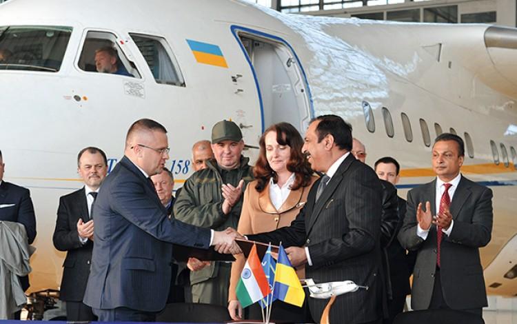 ANTONOV SECURES INDIAN PARTNERSHIP: Ukrainian aerospace flagship eyes joint production for lucrative Indian market