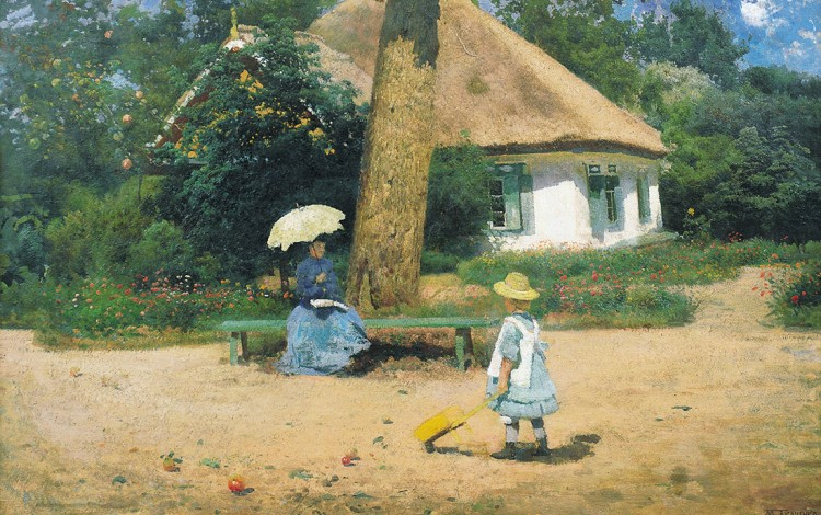 UKRAINIAN ART HISTORY: A new generation rediscovers the forgotten Ukrainian genius of French Impressionism