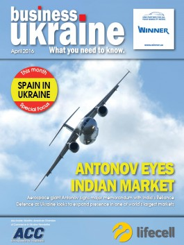 Business Ukraine magazine issue April 2016