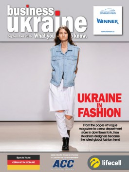 Business Ukraine magazine issue September 2016