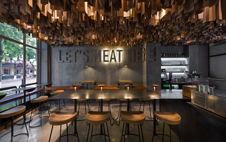 DESIGN: Poltava burger bar named Europe's most stylish at 2017 design awards in UK