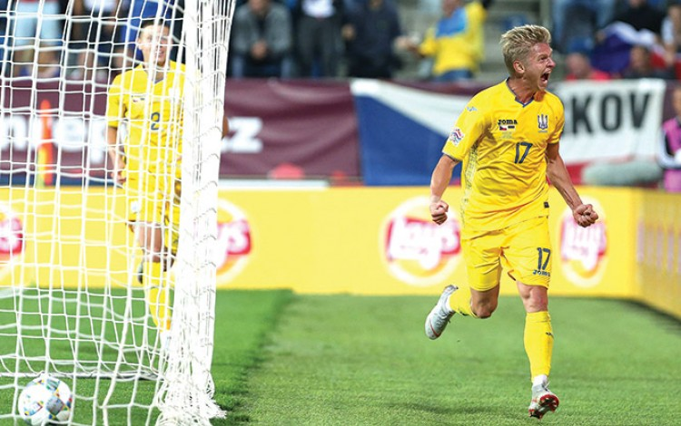 Ukraine looking to continue UEFA Nations League success against Czech Republic