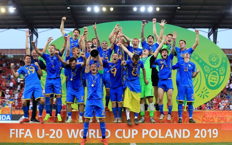 FOOTBALL: Ukraine win the 2019 U-20 FIFA World Cup in Poland with thrilling 3-1 final victory over South Korea