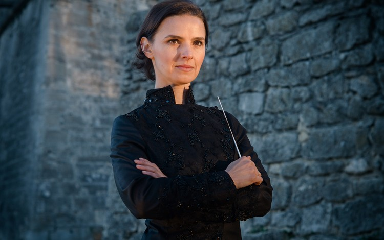 Ukrainian superstar conductor Oksana Lyniv prepares to make history with Wagner at this summer's Bayreuth Festival
