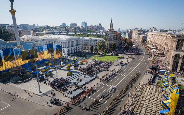 Ukrainian Independence Day celebrated with Ukraine still fighting for survival