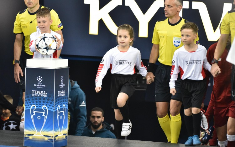Champions League Final joy in Kyiv for Oleksandr Yaroslavsky's daughter Katya