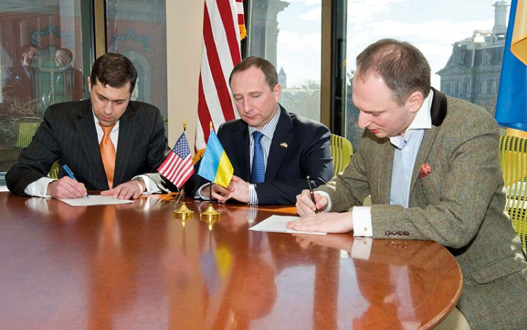 Promoting Kharkiv in the US