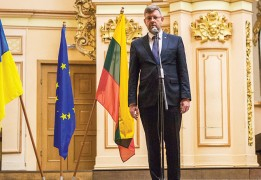 """""""There is a deep understanding that the security and stability of Ukraine is vital for Lithuania and for Europe as a whole"""""""