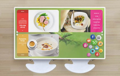MADE IN UKRAINE: Ukrainian IT company pioneers digital dining with smart tables