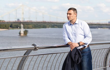 KYIV MAYOR VITALI KLITSCHKO SEEKS TO CULTIVATE EUROPE'S GARDEN CITY