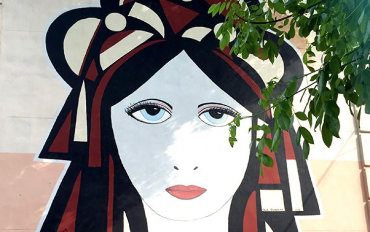 UKRAINIAN STREET ART EXPLOSION: American artist inspired by Kyiv's post-Maidan mural mania