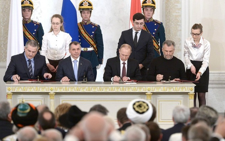 EDITORIAL: Vladimir Putin is learning the hard way that Crimean crime does not pay