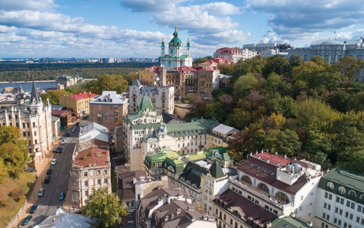 Kyiv's historic real estate