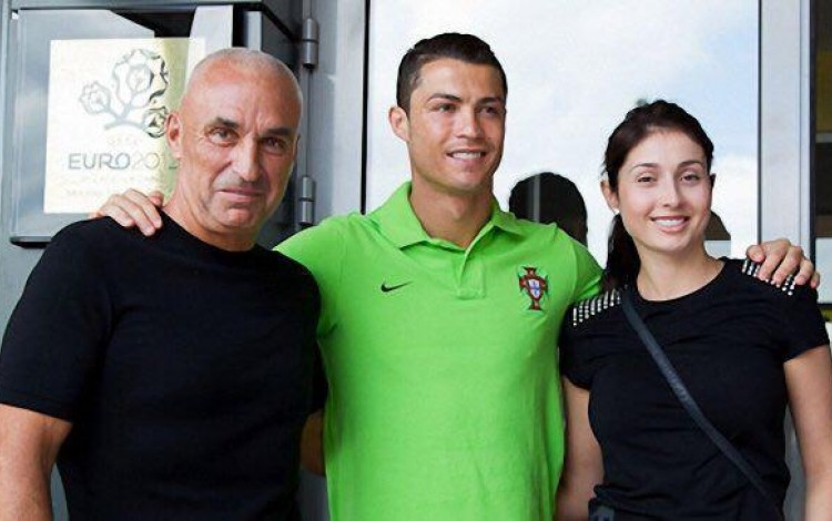 Yaroslavsky receives birthday T-shirt from football legend Cristiano Ronaldo