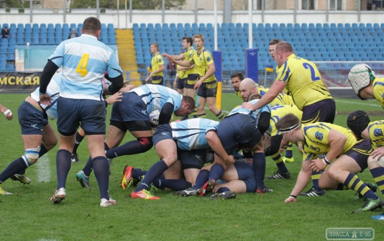 RUGBY: Ukrainian national team secures impressive victory over Sweden in Odesa