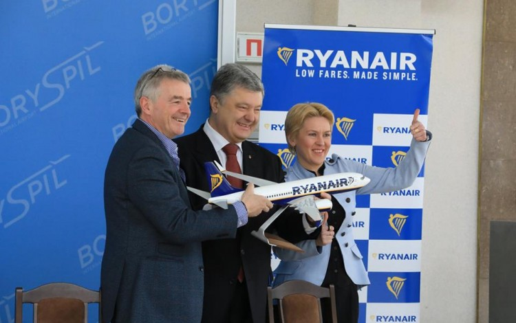 Ryanair announces Madrid flights as battle for Ukraine's budget market heats up