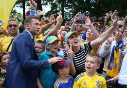 STAR PLAYER, NOVICE COACH: Can Andriy Shevchenko lead Ukraine's underperforming footballers to 2018 World Cup?