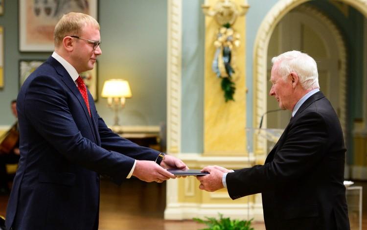 AMBASSADOR SHEVCHENKO: Promoting the new Ukraine among old Canadian friends