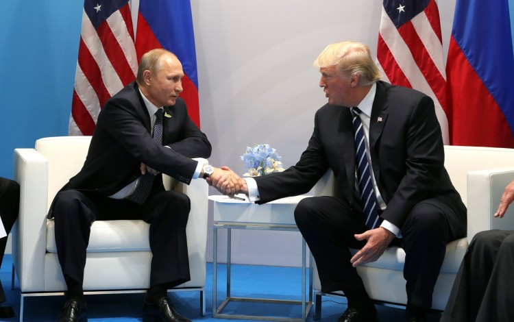 HELSINKI SUMMIT: Putin enters talks in pole position as Trump is already echoing the Kremlin's preferred Ukraine narratives