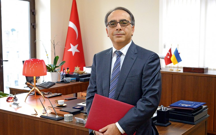 "TURKISH AMBASSADOR: ""Turkish interests require a free, independent and united Ukraine that stands firmly on its feet"""