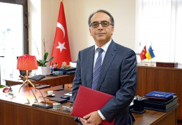"""TURKISH AMBASSADOR: """"Turkish interests require a free, independent and united Ukraine that stands firmly on its feet"""""""