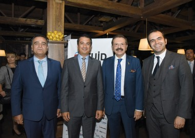 Ukraine's Turkish Business Community Welcomes VIP Guest