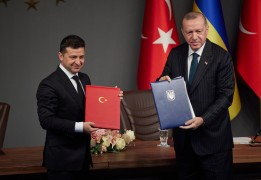 BLACK SEA PARTNERSHIP: Ukraine and Turkey sign military cooperation agreements as strategic relations deepen