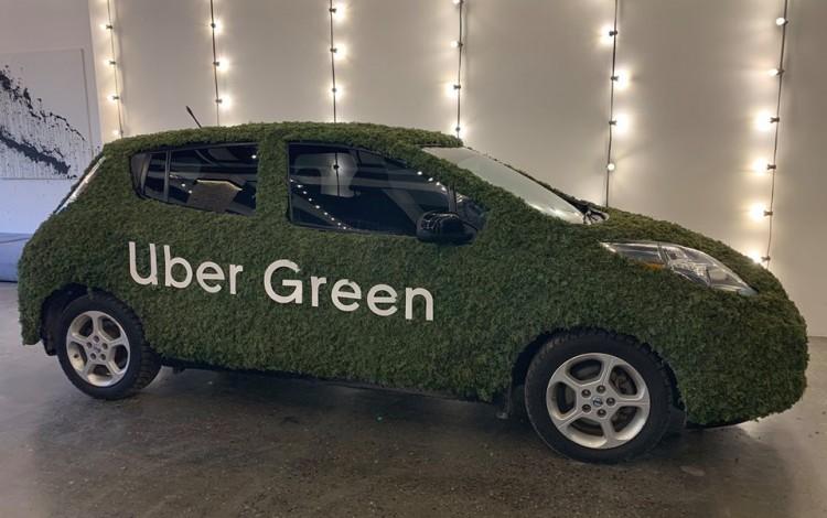 Uber Green arrives in Kyiv