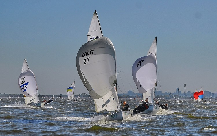 SPECTACULAR SAILING: Kyiv Sea plays host to Ukraine's largest ever yacht regatta