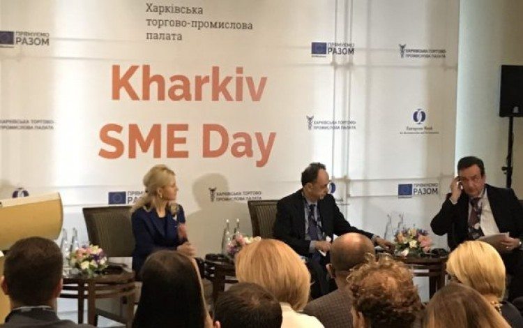 Kharkiv region SME sector growth in the spotlight at east Ukraine business forum