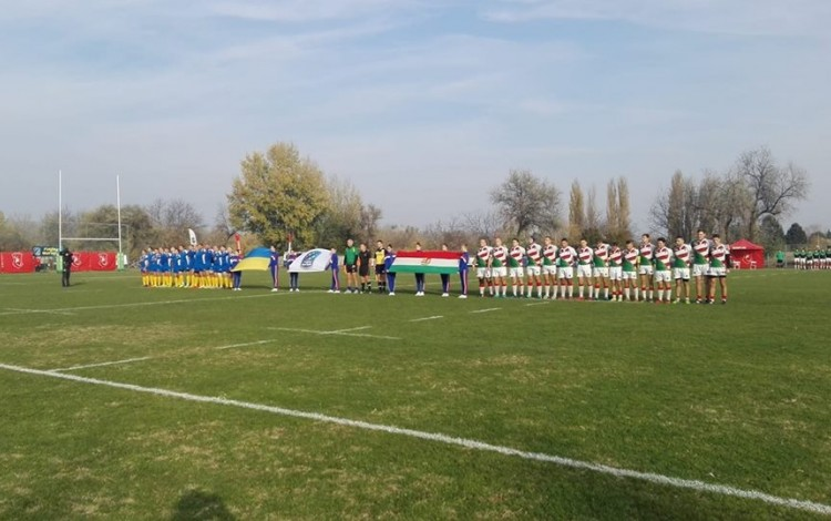 RUGBY: Kharkiv players lead Ukraine to impressive 48-24 victory over Hungary