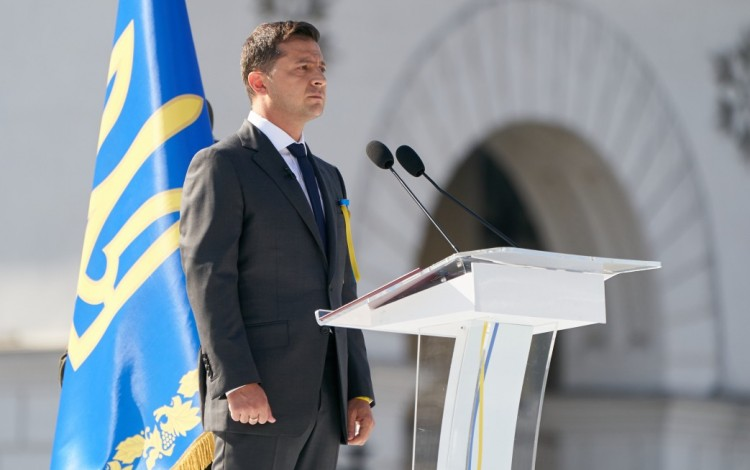 Full text of President Zelenskyy's speech marking Ukrainian Independence Day 2019