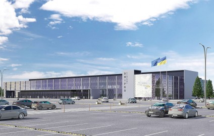 DNIPRO INTERNATIONAL AIRPORT: RECONSTRUCTION PROJECT UNDERWAY