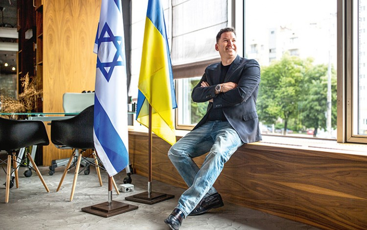 ISRAEL IN UKRAINE: Real estate developer Ari Schwartz takes a long-term view on Ukraine