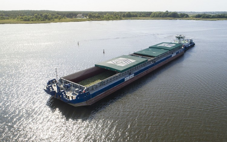 River Dnipro gets cargo boost