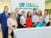 Credit Agricole Bank Presents New Model Branch