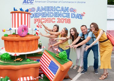 Annual American Independence Day Picnic held in Kyiv