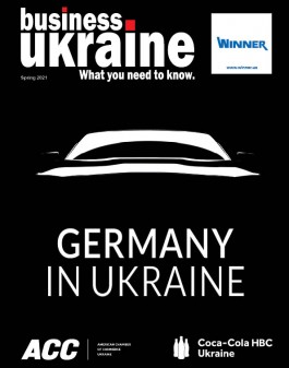 Business Ukraine magazine issue  spring 2021