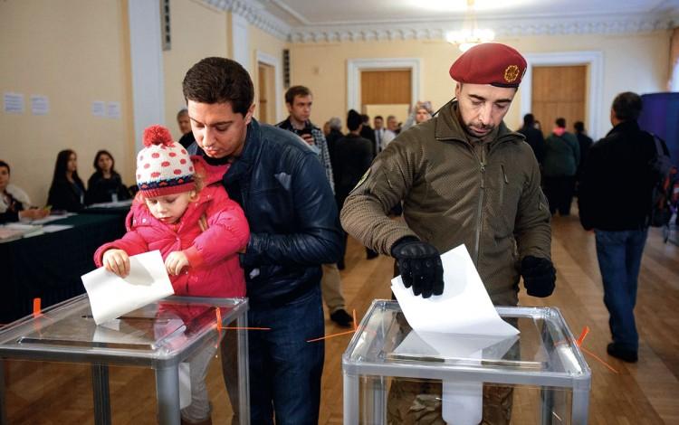 POST-SOVIET TRANSITION: Darth Vader and the dark side of Ukraine's imperfect democracy