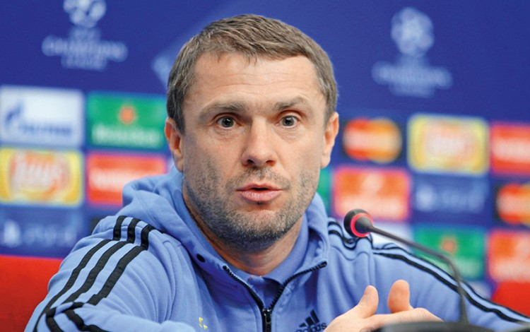 FOOTBALL: Serhiy Rebrov leads Dynamo Kyiv back to the UEFA Champions League Promised Land