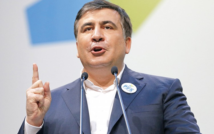 2015 REVIEW: Saakashvili becomes Ukraine's most popular politician
